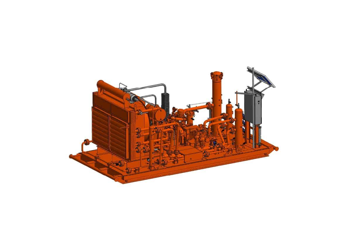 FXP2 in orange