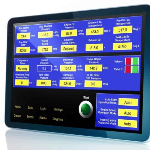 Logix PLC control panel